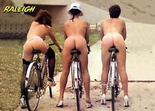 Raleigh Cheeky Girls A4 poster Campagnolo C Super Record