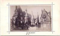 Mans Francia Stampa Albumina Vintage Verso 1890 Formato CDV Foto