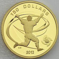 "2013 $150 World Baseball Classic Tournament, ""Celebration"" 1/2 oz. Pure Gold"