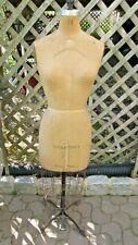 Antique Victorian Palmenburg Cavanaugh Dress Form Mannequin adjustable Size 14