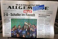 FC Schalke 04 - DFB Pokalsieger 2001 Sonderausgabe der WAZ vom 27.Mai 2001 -/286