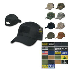 RapDom Tactical Operator Contractor Military Caps Hats with Front Patch Unisex