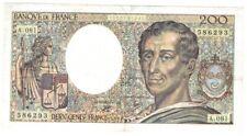 200 Francs Montesquieu 1990 A081 TTB +  ( 530 )