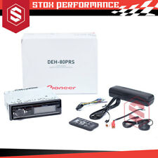 Pioneer DEH-80PRS Dual USB/Aux-In/CD 16 Band EQ and Time Alignment Car Stereo