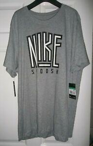 NEW ~ NIKE Grey T-shirt ~ Size XL