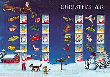 GS-085 Christmas 2012 Generic Smilers Stamp Sheet