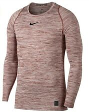 Nike Pro Warm Dri Fit Thermal Men's Small Long Sleeve Training Shirt Black