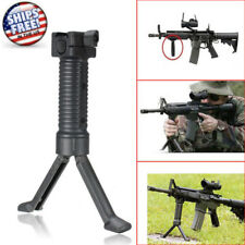 Tactical Rifle Bipod Hand Fore Grip Vertical Foregrip 20mm Picatinny Weaver Rail
