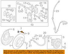 KIA OEM 14-18 Soul Brake-Rear-Caliper Assembly Mount Bolt 517112E000