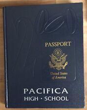 Pacifica High School 2000 Yearbook