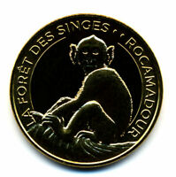 46 ROCAMADOUR Forêt des singes 7, Singe assis, 2020, Monnaie de Paris