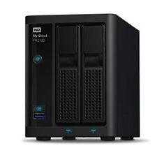 Western Digital 16,000GB (16TB) My Cloud Pro PR2100 NAS System - 2-Bay, Black