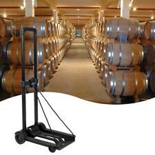 Mini Folding Luggage Cart Portable Travel Trailer Cart Shopping Trolley