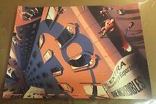 Tom Miatke The Incredibles Hero Complex Pixar Disney Print Numbered 18 x 24in LE