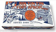 Marx Rin Tin Tin Fort Apache Play Set Box Series 5000