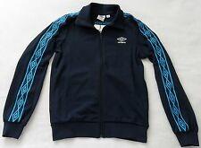 NEW~Umbro 1350 DIAMOND ICONS TAPED Track sweat shirt Jacket soccer Top~Men sz XL
