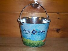 Blue Moon Brewery Metal Beer Ice Bucket Cooler New