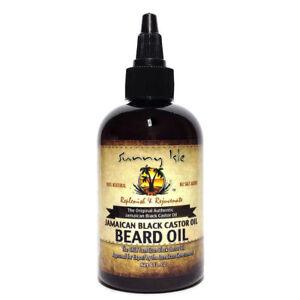 Sunny isle Jamaican Black Castor oil Beard Oil (100% Natural) 4oz