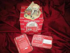 "LILLIPUT LANE ""COCA COLA"" RETIRED MIB COA ""FILL'ER UP and CHECK the OIL"""