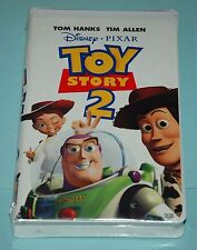 Original Disney Pixar TOY STORY 2 factory sealed mint condition VHS tape 19947