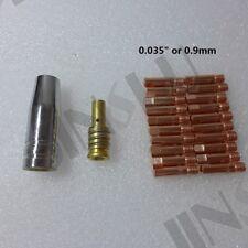 Short Gas Diffuser 0.9mm 035 Kit For Mig Gun Mig Welder