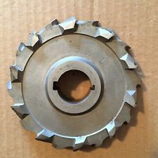 """STAGGERED TOOTH HS STEEL 6"""" X 1"""" X 1 1/4""""SIDE MILLING CUTTER"""