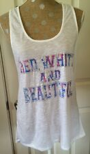 d8798b1560 NWT Womens Jenni By Jennifer Moore Macys Active Tank Sz Large MSRP  19.50