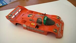 Scalextric Slot.it Porsche 962 Jagermeister  Body Shell & Chassis Used Clean