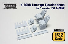 Wolfpack WP32046, K-36DM Late Type Ejection seats for Su-30MK, SCALE 1/32