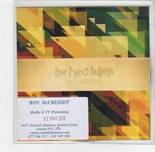 (FE465) The Red Bullets, East of Easy - 2012 DJ CD