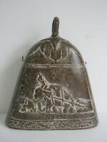 Rare antique temple elephant bell made of bronze & brass