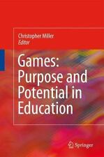 Games : Purpose and Potential in Education Crystal and Solid State Physics:...