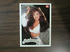 1992 Lime Rock # P3 Kimiko Tanaka Oakland Raiders Cheerleaders Promo Card (B17)