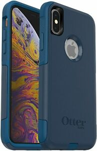 OtterBox Commuter Case for iPhone Xs & iPhone X, Bespoke Way Blue, Easy Open Box