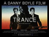 Trance Plakat Zweiseitig (Quad) (2013) Original Filmposter
