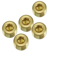 New listing Nigo Industrial Co. Jns Brass Pipe Fitting, Hex Counter Sunk Plug, Male Pipe, No