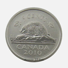 2010 Canada 5 Cents Specimen Coin