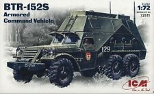 1/72 BTR-152S ARMORED COMMAND VEHICLE ICM 72511
