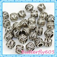 Brighton Alpha Alphabet Letter & ? Charms Silver Crystal Spacer U PICK NWOT