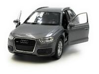 Model Car Audi Q3 Compact SUV Gray Car 1:3 4-39 (Licensed)