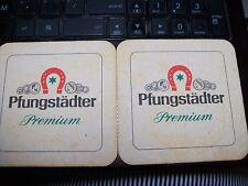 Beer Coasters ~ Pfungstadter~ OLD GERMAN BEER, HORSESHOE