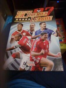 Complete Merlin Premier League Sticker Album 07 2007 In Hardback Binder