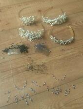 Joblot wedding, prom accessories, tiaras, hair combs, hair vine, handmade
