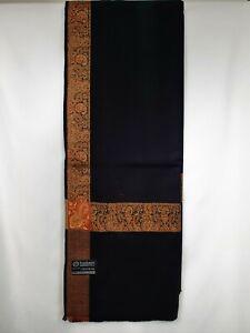 yemeni arab kashmiri black red shawl shemagh scarf mens sufi headscarf shia soft