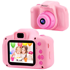 Digital Action Camera for Girls Birthday Toy Gifts 4-12 Year Kids Video Recorder