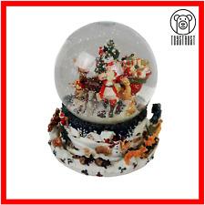 Christmas Snow Globe Glass Musical Hand Painted Water Globe Kirkland Signature