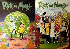 Rick and Morty: Seasons 1-2 (4 DVDs) Ships First Class (Adult Swim) Season 1 & 2