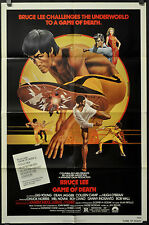 GAME OF DEATH 1979 ORIGINAL 27X41 MOVIE POSTER BRUCE LEE GIG  YOUNG COLLEEN CAMP