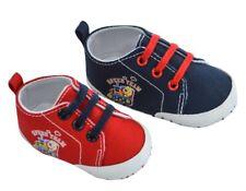 Soft Touch chaussures bébé en sergé train rouge ou bleu garçon 6 à 15 mois