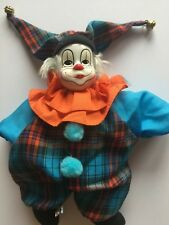 Vintage doll clown 9 in / 23 cm tall  Decorative Collectibles clowns